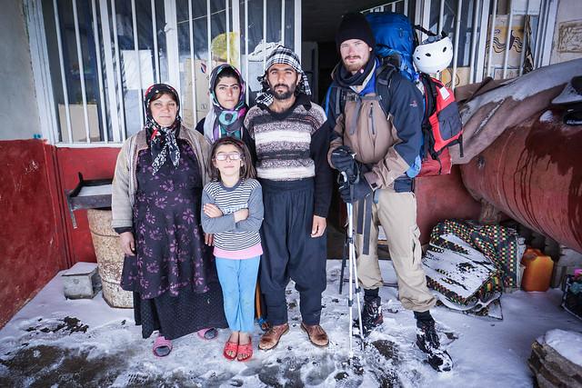 Bakhtiari shopkeeper family in Sheikh Ali Khan