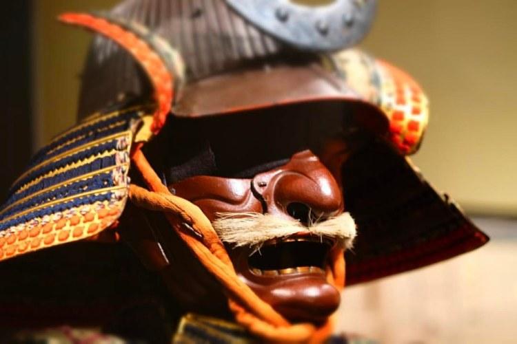 Samurai Helmet, en el Museo de Arte Asiático. San Francisco
