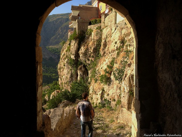 Looking Through Bahdinan Gate