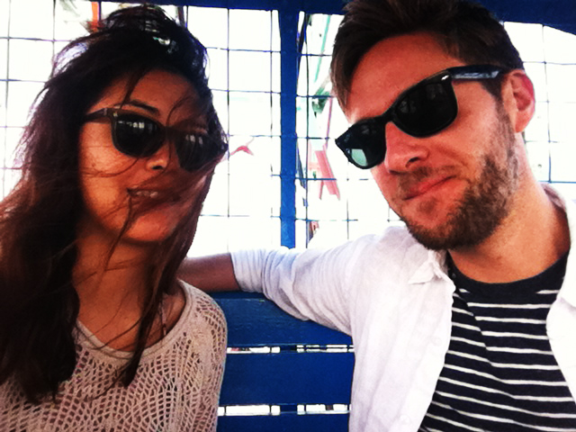 on the Wonder Wheel