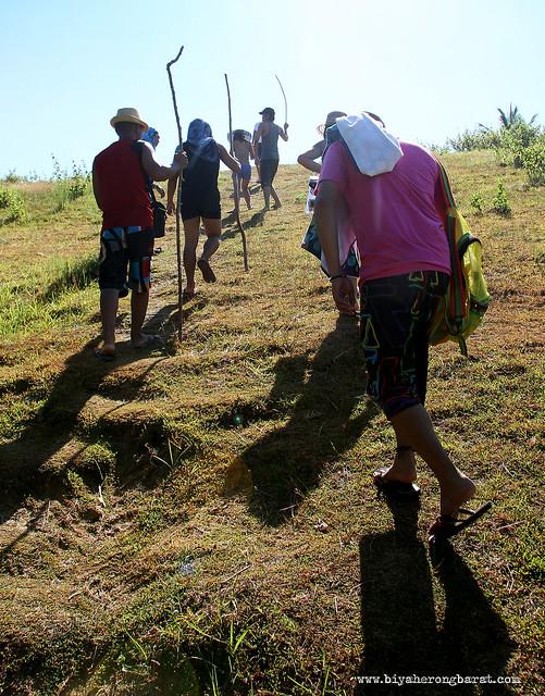 Hiking in Calaguas Island