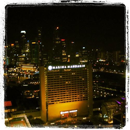 #singapore CBD view from The Conrad by @MySoDotCom