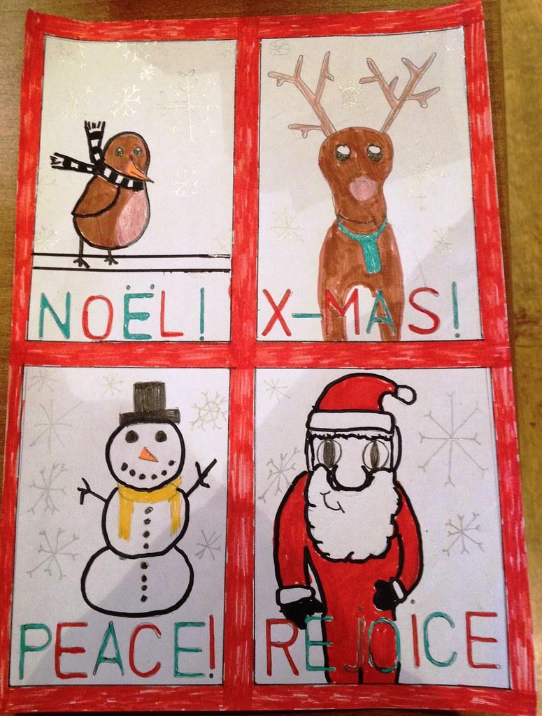 Lindley Juniors Christmas Card
