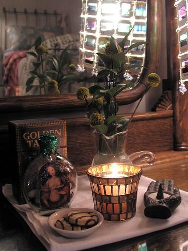 Saint Lucy's altar
