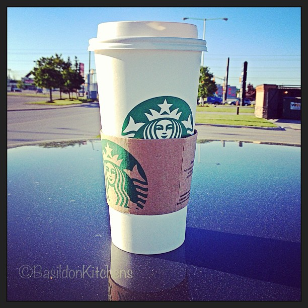 May 27 - can't live without {my morning coffee} ☕ #fmsphotoaday #coffee #starbucks