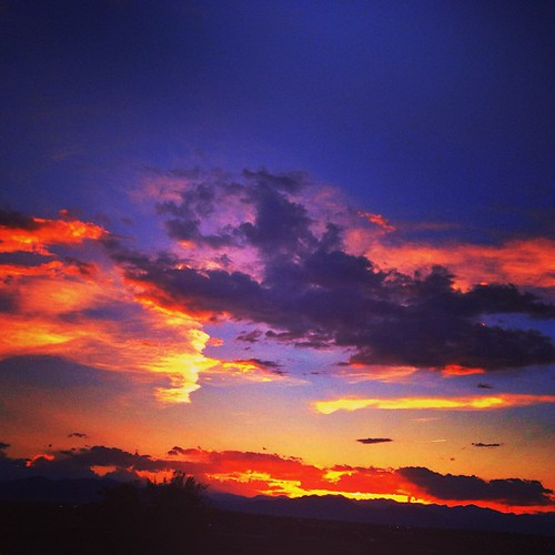 #colorado #sunset by @MySoDotCom