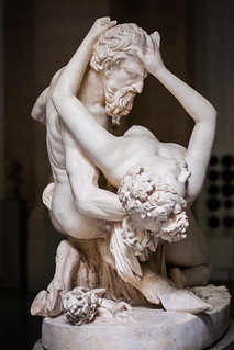 Satyre et bacchante, Jean-Jaques Pradier, Lille, France, Le Palais Des Beaux Arts