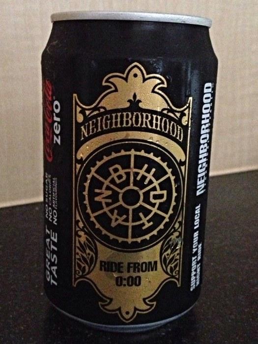 Coke Zero x Neighborhood limited edition cans