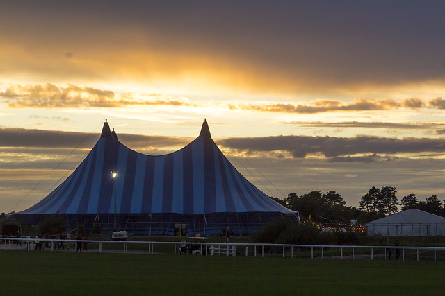Big Top Sunset