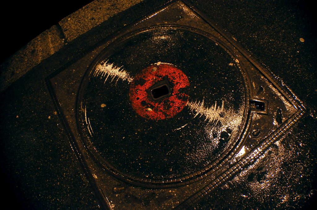 Bouche d'égout Vinyl