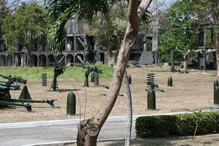 gun parts on Corregidor