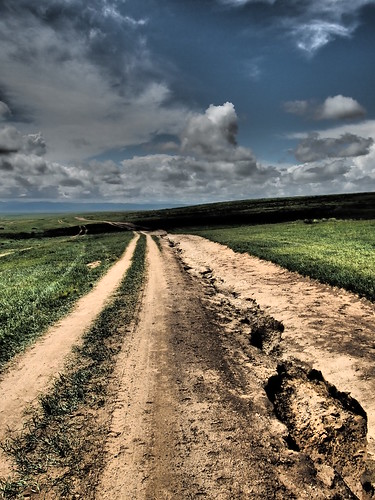 Road to Kharkhorin