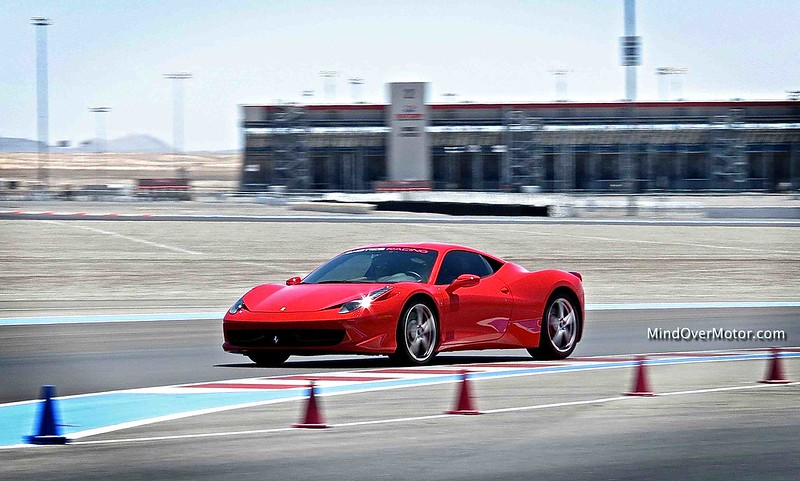 Ferrari 458 Italia Reviewed by Mind Over Motor at Exotics Racing