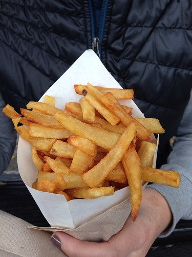 Frites, baby.