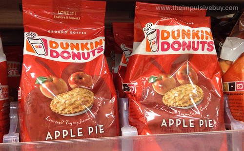 Dunkin' Donuts Apple Pie Coffee