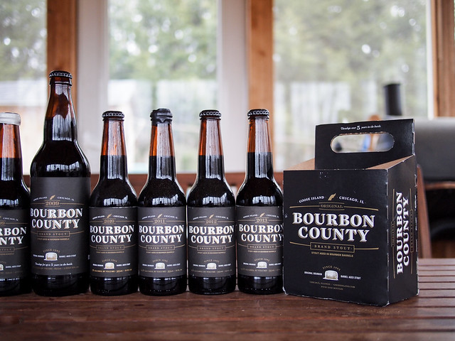 Goose Island Bourbon County Stout Vertical 2013