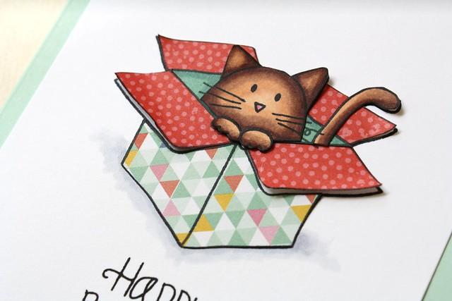 Simon Says Stamp~Furry Cat & Box