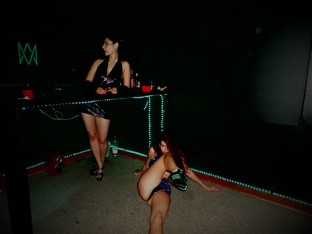 #MercedCafetería en donde el #CaféConPiernas y el #Striptease son protagonistas
