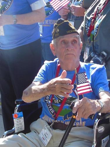 Honor Flight veterans