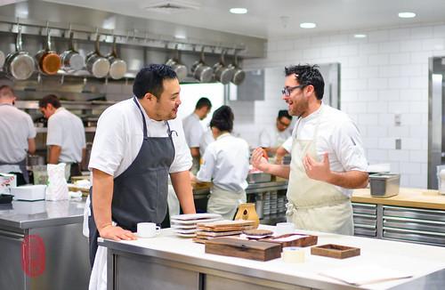 David Chang and Christopher Kostow