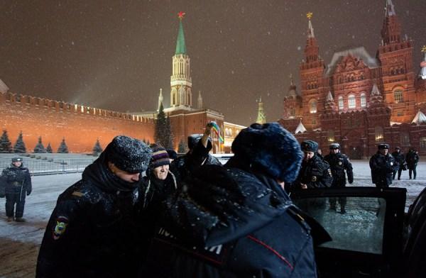Юрий Тимофеев Акция лгбтактивистов на Красной площади 7