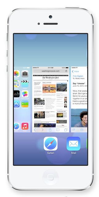 iOS7 Multitask