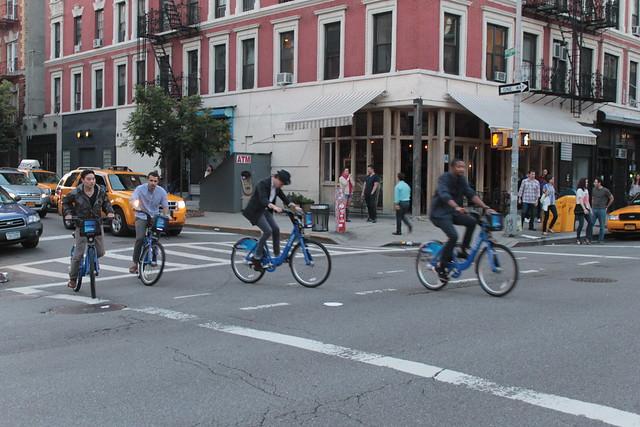 Citbike Traffic East Village