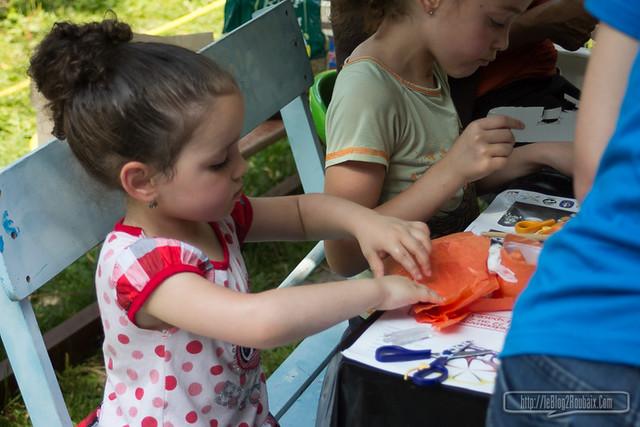 atelier créatif avec enfants