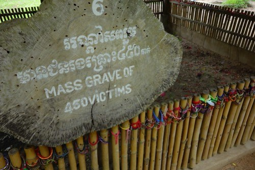 Mass Grave, Killing Fields, Cambodia