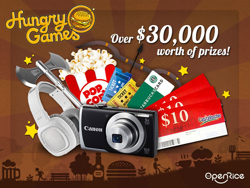 hungry games prizes