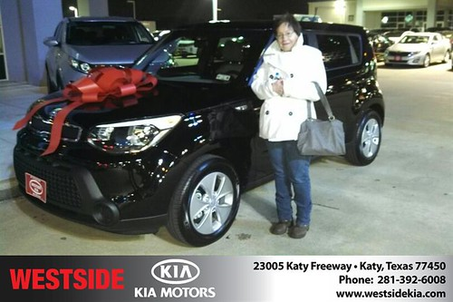 Thank you to Debra Michalke on your new 2014 #Kia #Soul from Gil Guzman and everyone at Westside Kia! #NewCar by Westside KIA