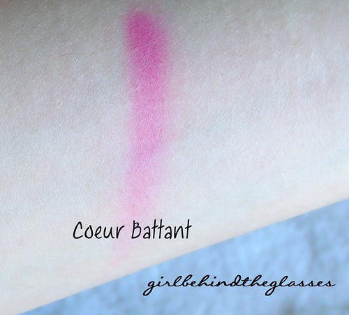 Nars Coeur Battant swatch