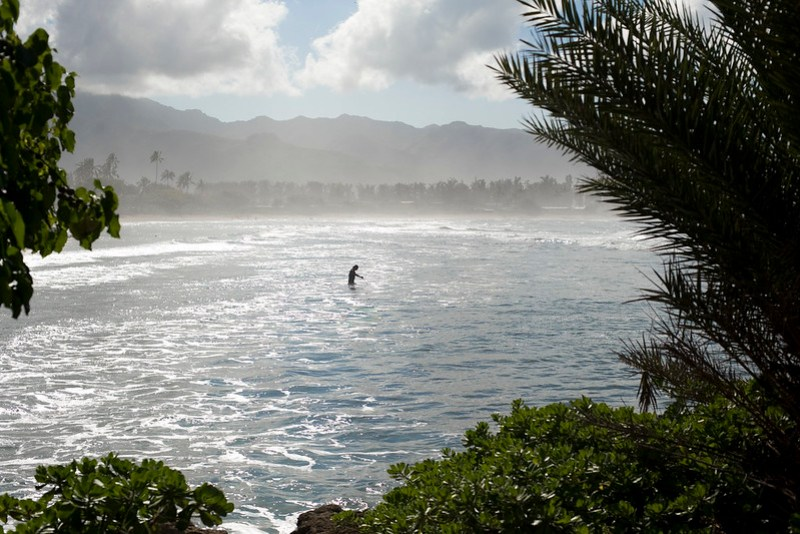 View from Ali'i Beach Park