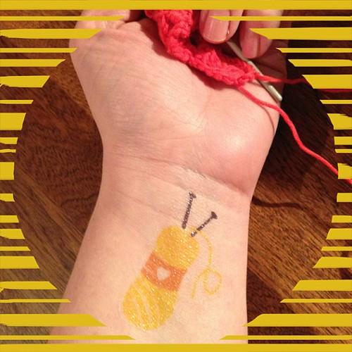 Een nieuwe tattoo #inkt