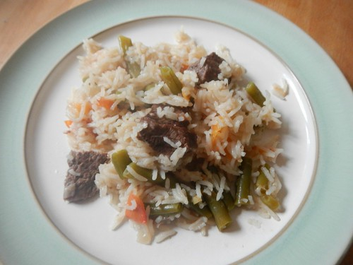 Malagasy beef with greens