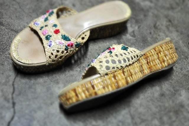 Wicker and Straw Clogs