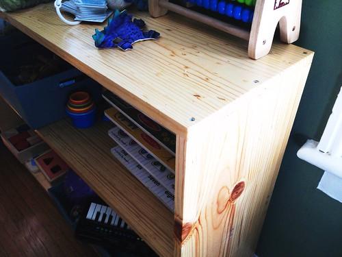 Madrigal's shelf