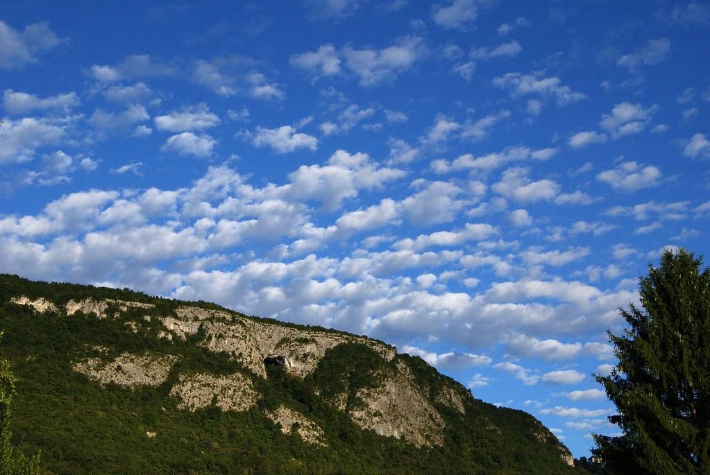 Le ciel et la montagne