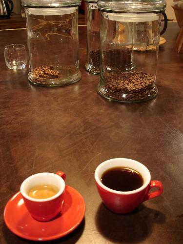Espresso & Pour Over Coffee