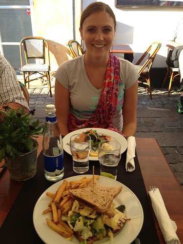 Eating in Nyhavn