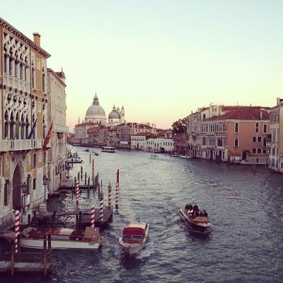 Venice at sunset. #venice #italy #travel