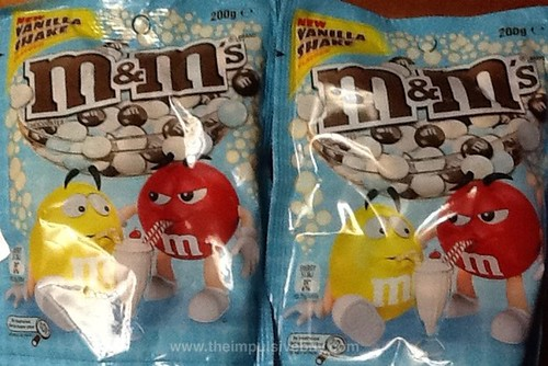 Vanilla Shake M&M's from Australia