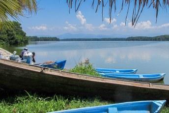 Het weekend erna gingen we naar Tela en Miami waar de Garifuna's wonen.