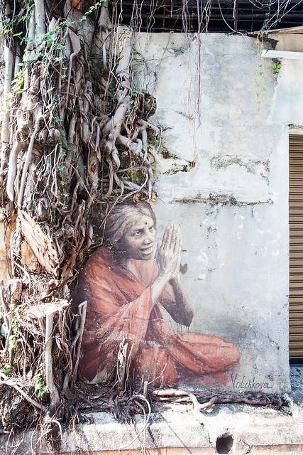 The Old Indian Lady, Artist: Julia Volchkova.