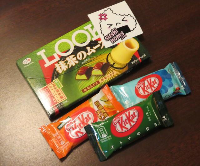 LOOk & Japanese Kit Kats