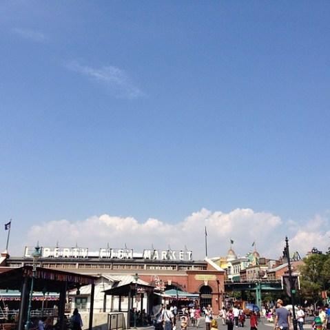 いい天気。