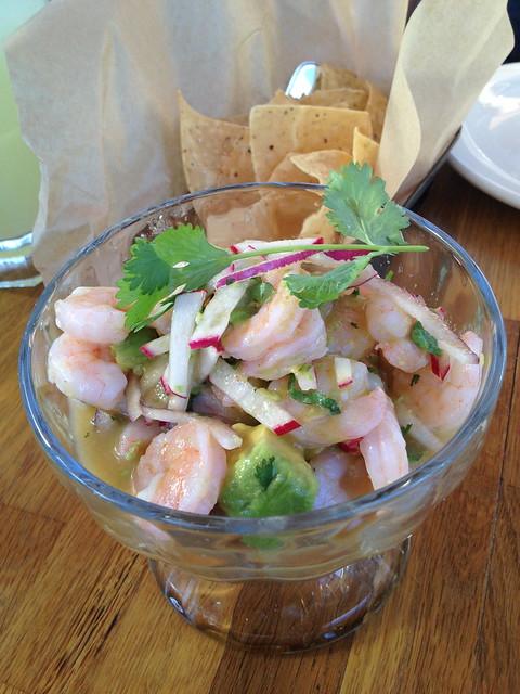 Shrimp ceviche - El Techo de Lolinda