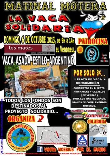 Matinal Motera La Vaca Solidaria - El Vendrell