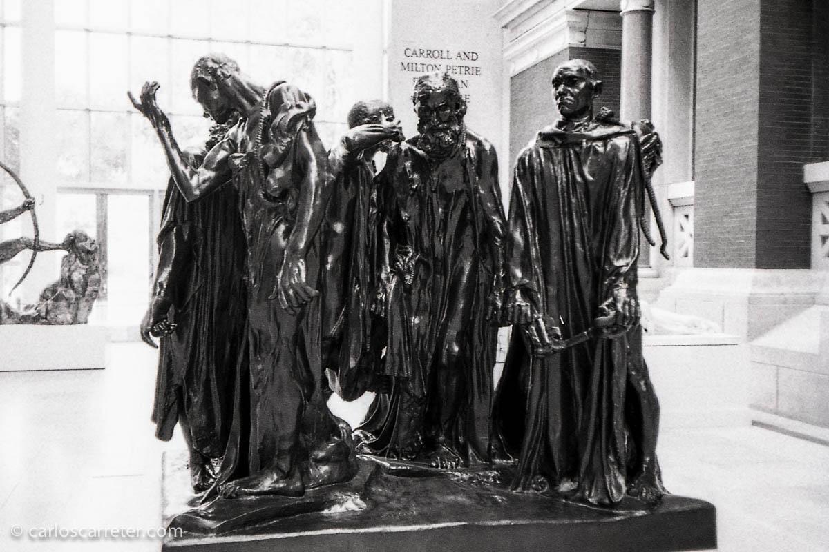 Los burgueses de Calais en el Met
