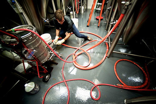 Making beer at The Alchemist